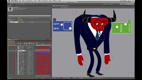 After Effects Ik Character Animation Demonstration By