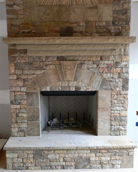 stacked for fireplace stack stone fireplace bukit