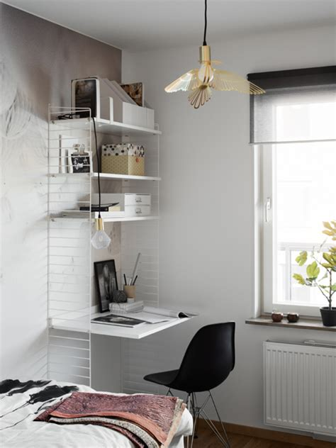 small study table ikea tonårsrum in the a home