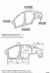 Lexus Rx 350 Panel  Quarter  Left  Inner