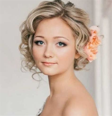 perfect short hairstyles  weddings bride hairstyle