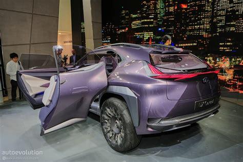lexus ux concept    place   paris motor