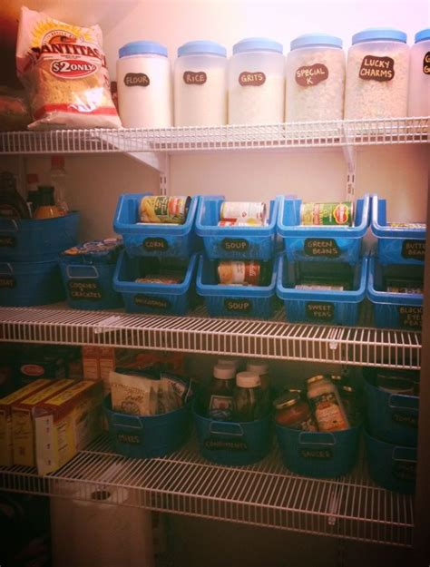 Kitchen Organization Dollar Store by Organized Pantry For Around 20 At The Dollar Store