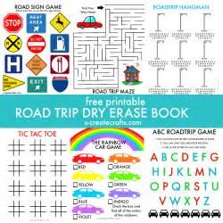 Free Printable Road Trip Activity Book