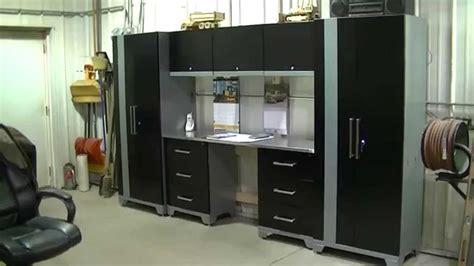 newage garage cabinets installation shop garage cleanup and organization part 3 quot newage