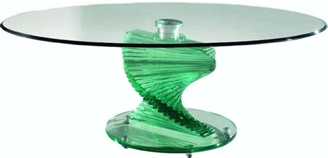 50 Photos Spiral Glass Coffee Table  Coffee Table Ideas