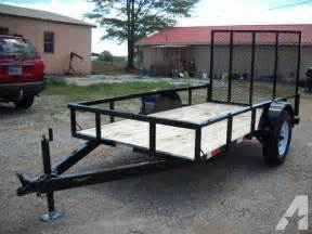 5 by 10 Utility Trailer for Sale