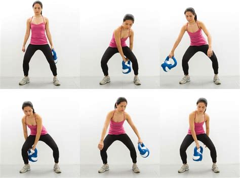 kettlebell figure exercises exercise workout abs body arms watchfit