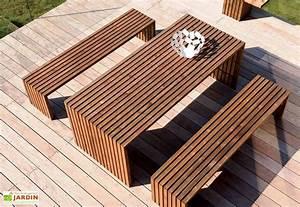 Salon De Jardin Design : salon de jardin karel design 3 pi ces jardipolys ~ Dailycaller-alerts.com Idées de Décoration