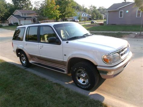 1996 Ford Explorer Engine 5 0l V8 by Sell Used 1996 Ford Explorer Eddie Bauer Edition All