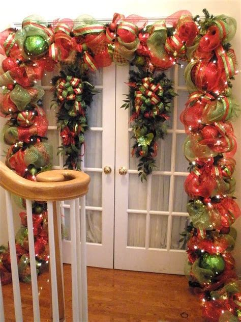 decorations deco mesh garland pinterest