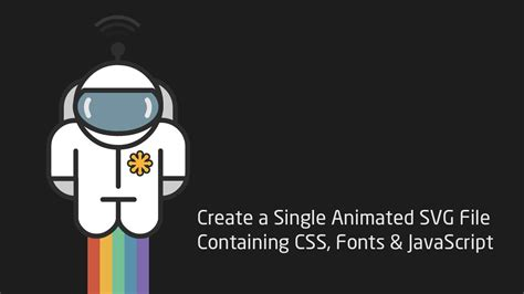 Css transitions & animations can be used to animate any of the properties shared with css, but not the others. Create a Single Animated SVG File Containing CSS, Fonts ...