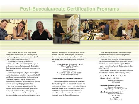 Postbaccalaureate Programs Brochure By Debra Beck  Issuu. Internet Photography Courses Old Nice Cars. United Healthcare Physician Finder. Real Estate Investors Network. Dental Programs In California. Free Preschool Newsletter Templates. Lpn Programs In Staten Island. Automated Call Distribution Angels Flight La. Accredited Online Theology Schools