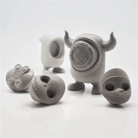 concrete monster toys art toy