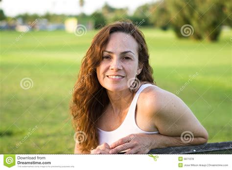 woman   park stock photo image  casual modern