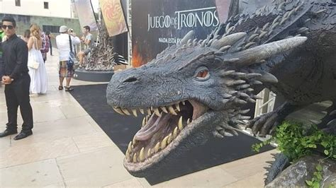 El Dragón De Juego De Tronos Ya Está En Málaga
