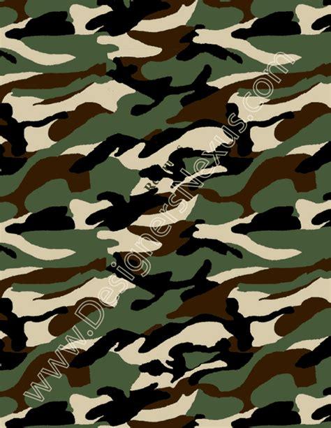 V24 Camo Print Seamless Textile Pattern Swatch