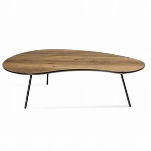 Table Basse Bois Scandinave : table basse klara2 en bois style scandinave ~ Teatrodelosmanantiales.com Idées de Décoration