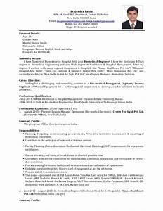resume biomedical engineer With biomedical engineering resume samples