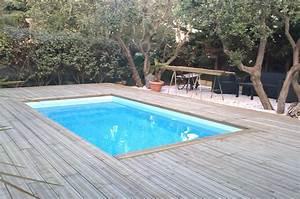 Bois Terrasse Piscine : chantiers terrasse en bois habillage piscine spa sur ~ Edinachiropracticcenter.com Idées de Décoration