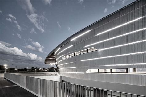 Azur Arena In Antibes by Azur Arena Antibes Architizer