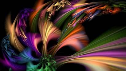 Abstract Burst Wallpapers Desktop Colorful Background Fractal