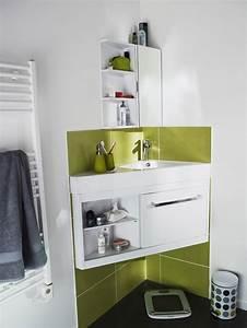 Meuble Salle De Bain Discount : meuble de salle de bain d angle pas cher ~ Teatrodelosmanantiales.com Idées de Décoration