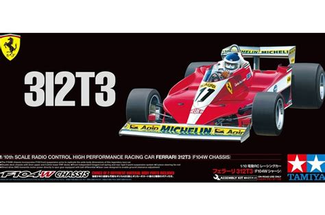 With discussions regarding the budget cap ongoing. Tamiya® TAM47374 - 1/10 F-1 GT RC Ferrari 312T3 Indy Car ...