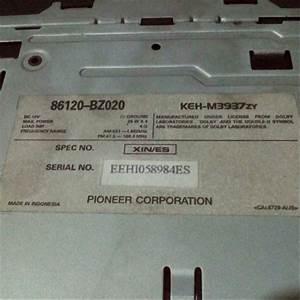 Skema Kabel Tape Mobil Avanza