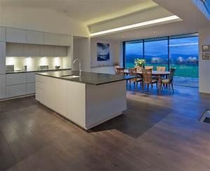 cuisine americaine avec ilot deco maison moderne With decoration maison cuisine americaine