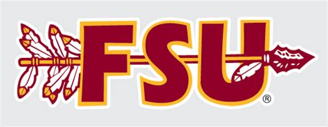 Florida State Seminoles Fsu With Spear Logo Vinyl Decal
