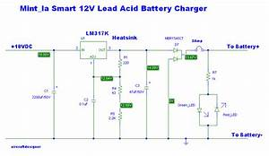 Lm317 Lead Acid Battery Charger
