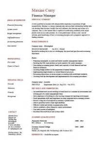 good resume for accounts manager job responsibilities finance manager resume best business template