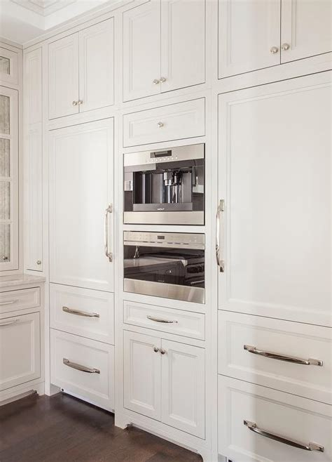 White Paneled Refrigerators with Freezer Drawers
