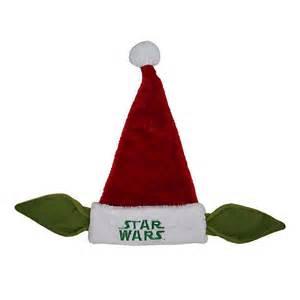 star wars yoda christmas 20 quot santa hat new with tag ebay