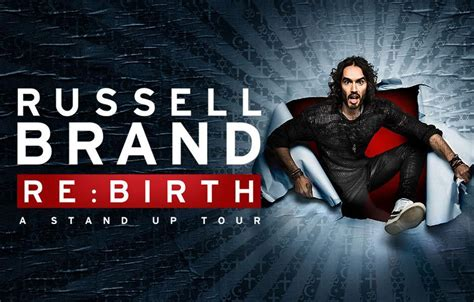 Russell Brand To Visit Edinburgh On Rebirth Tour  Access