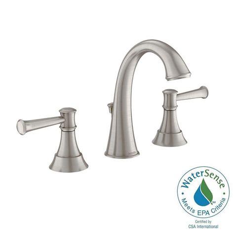 moen ashville 8 in widespread 2 handle high arc bathroom