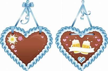 Oktoberfest Lebkuchenherzen Lebkuchenherz Gingerbread Heart Bavarian Souvenir