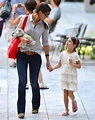 Katie Holmes and daughter Suri Cruise make visit to family ...
