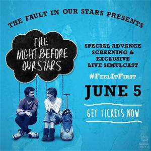 SPECIAL ADVANCE SCREENING FOR MOVIE THE FAULT IN OUR STARS ...