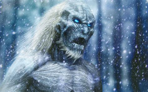 game  thrones white walkers fantasy art wallpapers hd