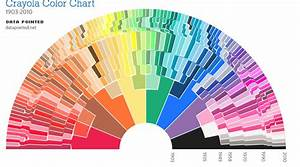The Crayola Color Wheel Has 19 Different Kinds Of Blue