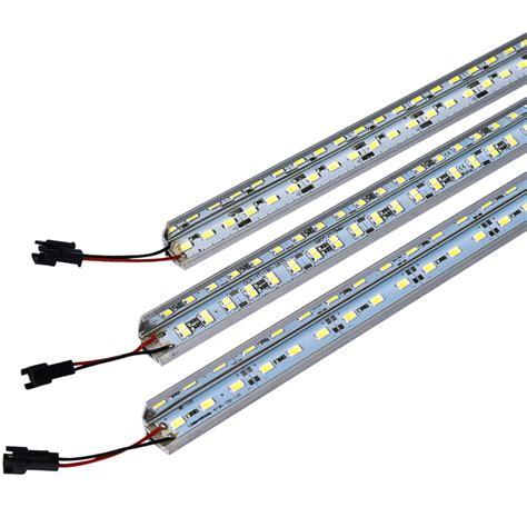 led bar light smd 5730 45leds 50cm v shape showcase