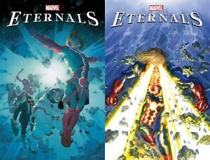 ETERNALS 1 2020 Ribic Main Cover A + Alex Ross Variant ...