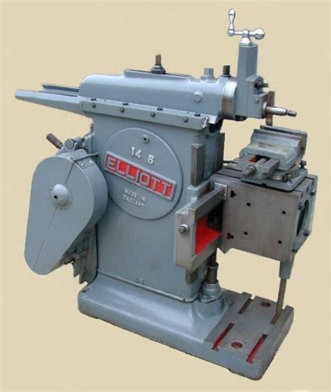 elliot shaper machine shop metal working tools metal