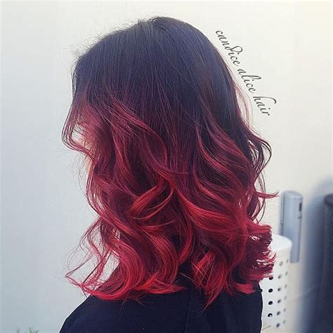 Ombre Hair 2017 Red Blue Purple Blonde Hair