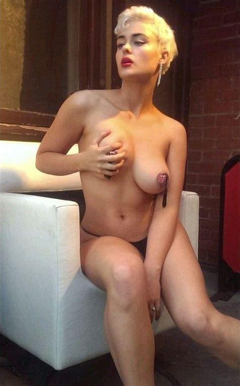 Stefania Ferrario Nude And Lesbian Photos Scandal Planet