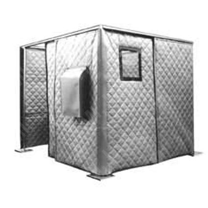 acoustical enclosures absorber barrier curtain systems