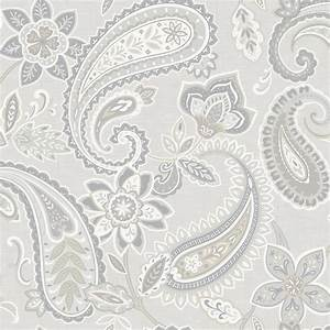 Holden Décor Indira Paisley Pattern Floral Flower Motif ...