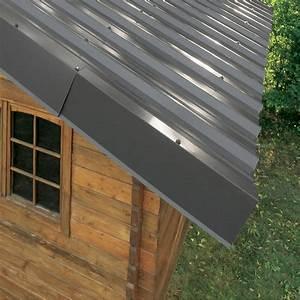 Plaque Isolante Mur : rive sur mur pour plaque nervur e 63 100 gris ral 7016 l ~ Melissatoandfro.com Idées de Décoration